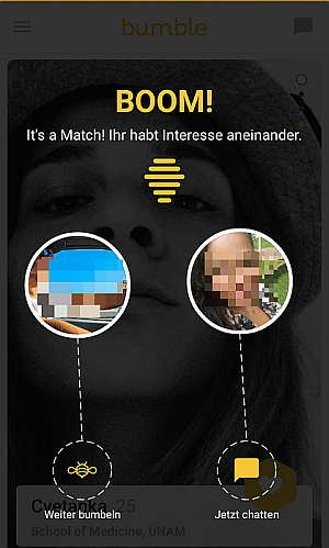 Match bei Bumble