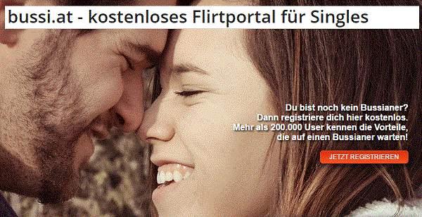 Bussi.at kostenlose Datingseite in Östereich