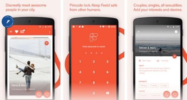 Die Dating-App Field macht das Finden flotter Dreier einfacher