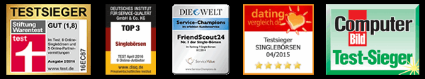 FriendScout24 bzw. LoveScout24 Testsieger