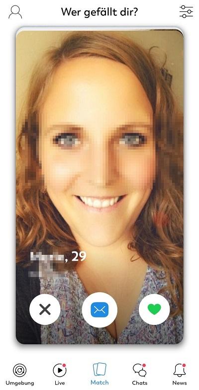 lovoo match profil einer frau