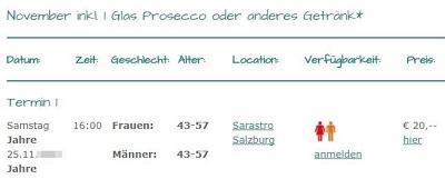 Youandme-dating.at Preise und Altersklassen