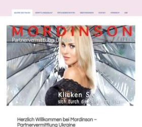 Mordinson.com screenshot