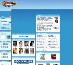 WebSingles.at screenshot